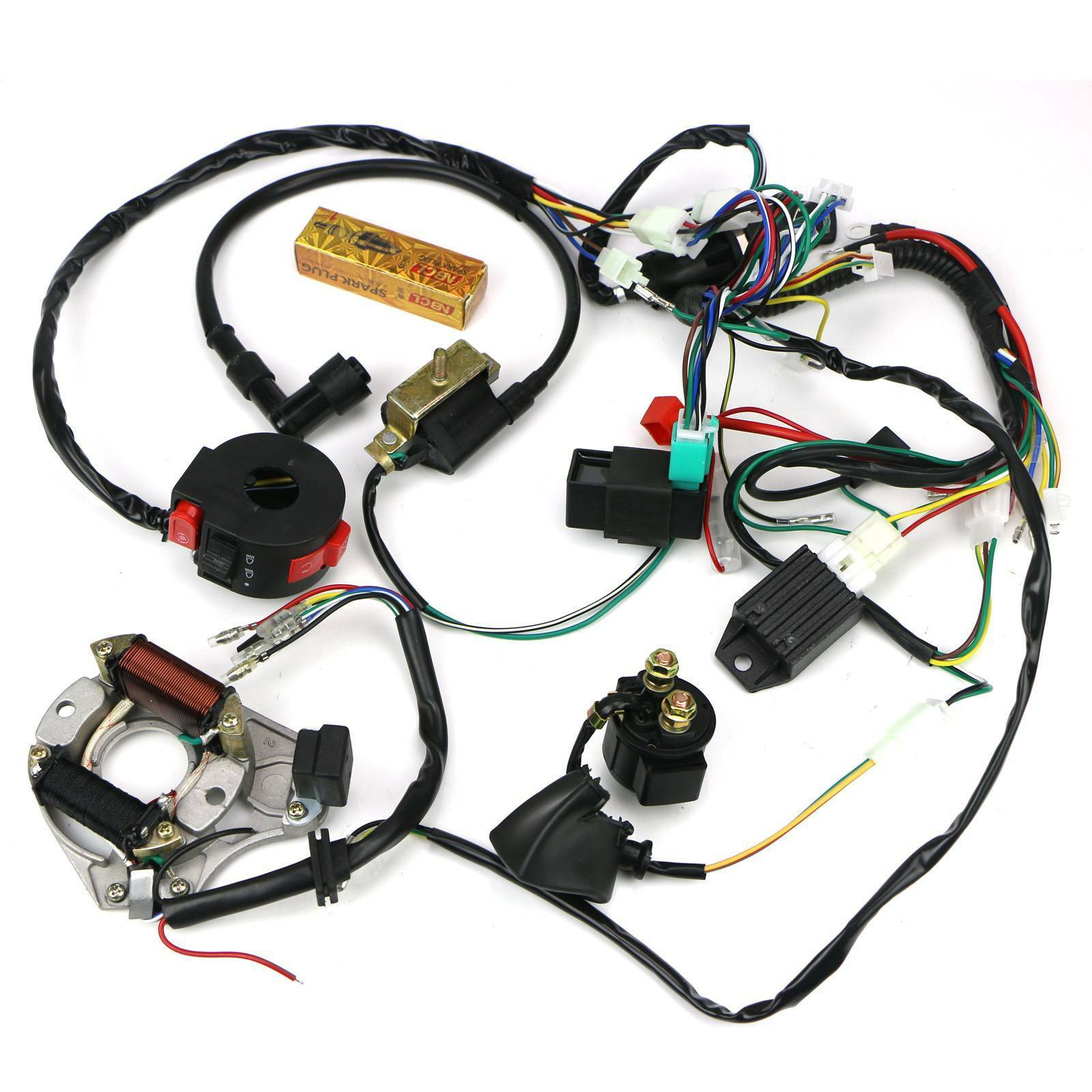 Diagram Cdi Wire Harness Stator Assembly Wiring For Atv Electric